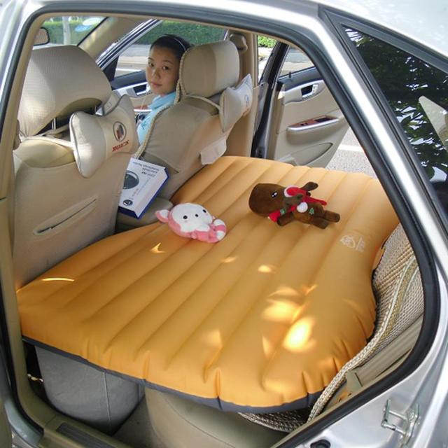 Hot Sale Car Travel PVC Inflatable Bed Airbed Air Bed Outdoor Camping Swimming Pool Air Cushion Bed