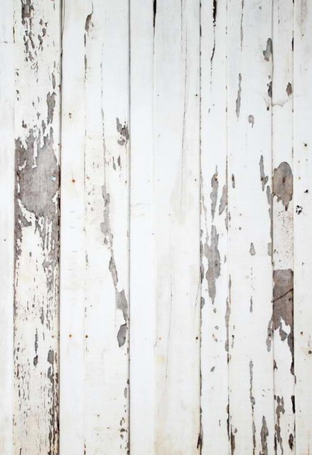 Vintage White Natural Real Hard Rustic Wood Photo Backdrop Vinyl