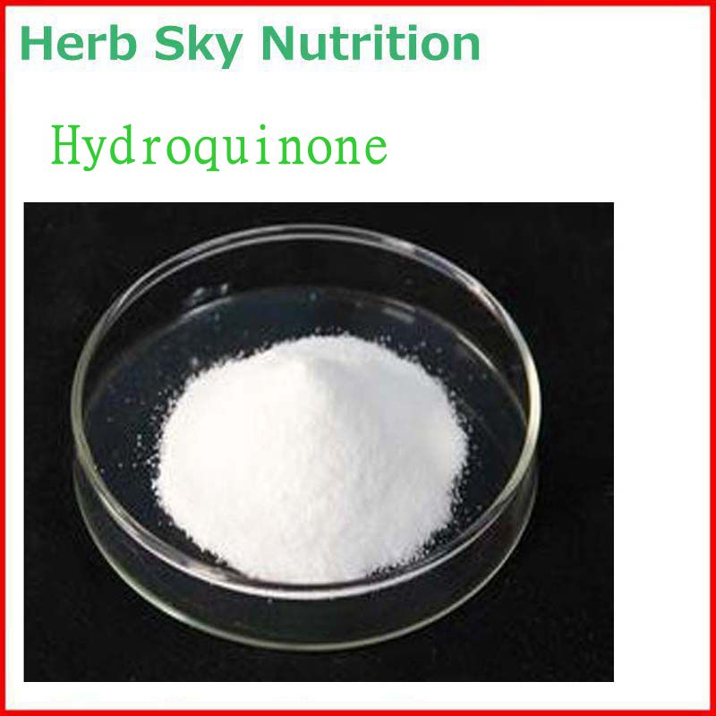 100% Natural&Pure Hydroquinone Powder with Free Shipping, Skin care best quality gmp factory produce natural goji berry powder wolfberry powder free shipping