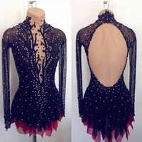 Eiskunstlauf kleid/Twirling/Tap Kostüm Dance Majorette trikot Custom