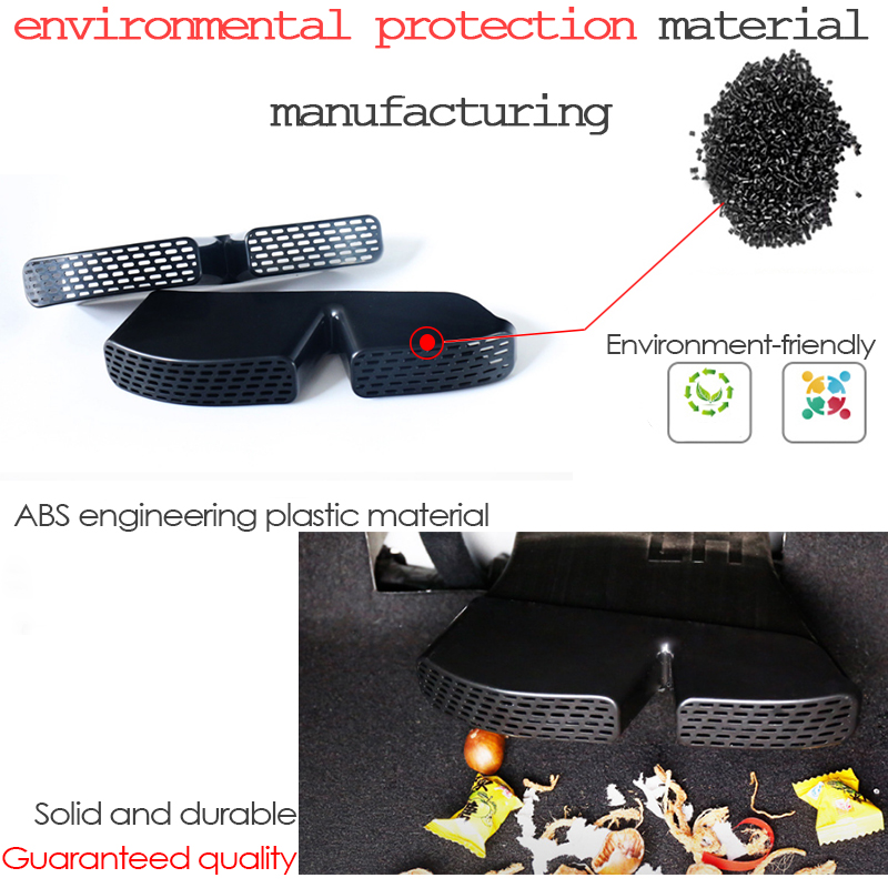 2Pcs Car Air Outlet Cover For Skoda 2016-2018 Bench Under Back Seat Cover UK #