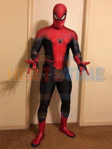 Traje de Spider-Man lejos de casa disfraz de Spiderman disfraz de 3D  impreso araña 78a04fae948b