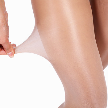 Women's Tear-resistant Pantyhose Sexy Nylon Tights Anti Hook Thin Black nude High elasticity Stockings Breathable T crotch