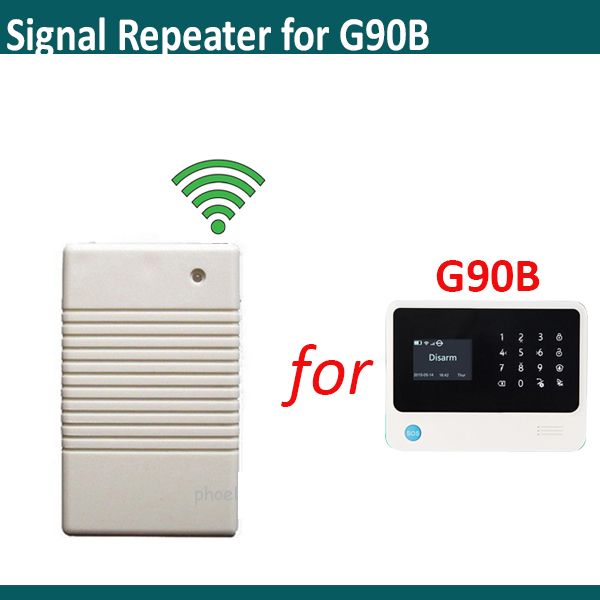Wireless Signal Repeater HM-ZJ Repeating Signal Stronger 433mhz For G90B /plus