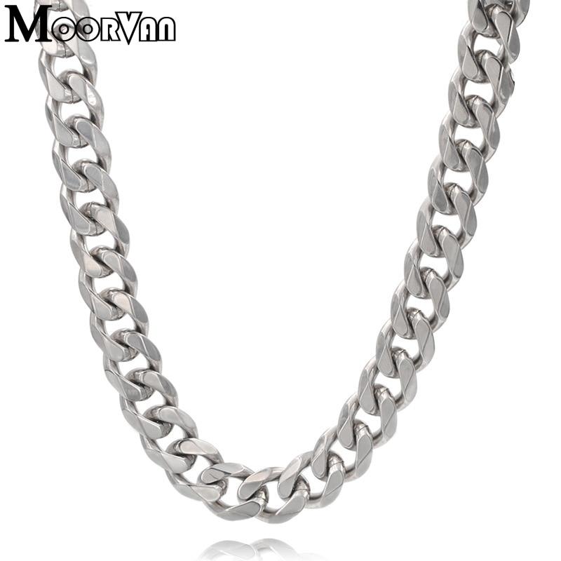 Muška ogrlica od 7 mm / 10 mm / 13 mm za muškarce ogrtač šest - Modni nakit - Foto 4