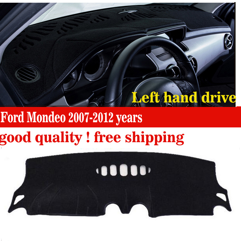 Car dashboard covers mat for Ford Mondeo 2007-2012 years Left hand drive dashmat pad dash covers Instrument platform accessories