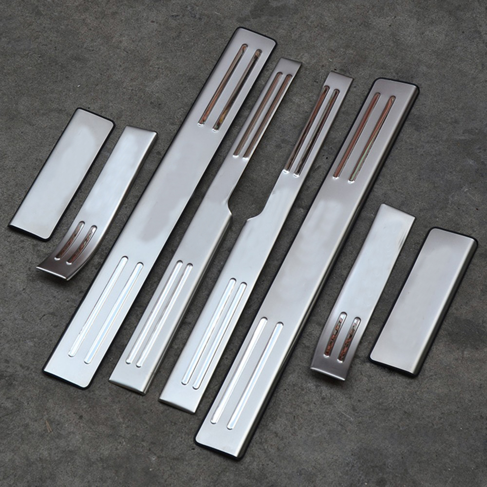 Accessories for chrome ford kuga 2013 2014 2015 stainless steel door welcome pedal plate kick step