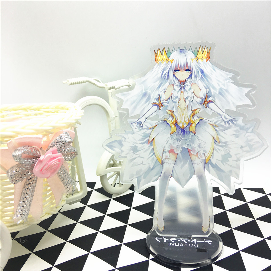 Anime Date a live Acrylic Stand Model Toys date a live Action Figure Pendant toy 15cm double-side gift