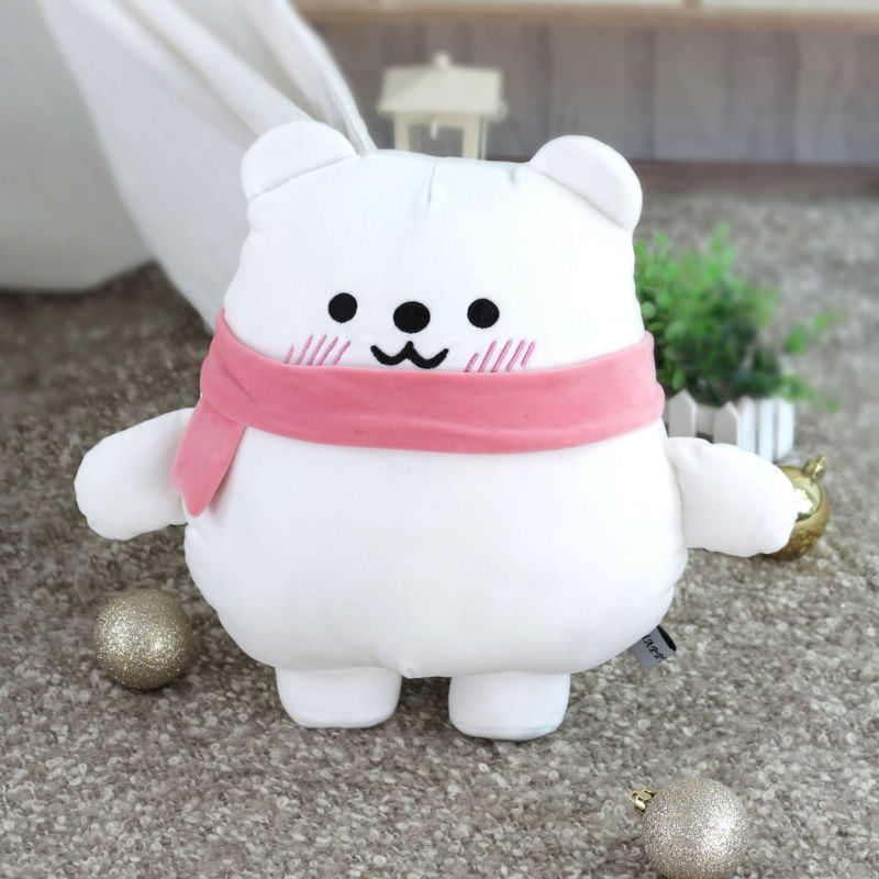 30/40 cm Cartoon Soft Polar Bear Penguin Stuffed Animal Appeasing Bed Toy For Children Wholesale Drop Shipping Available