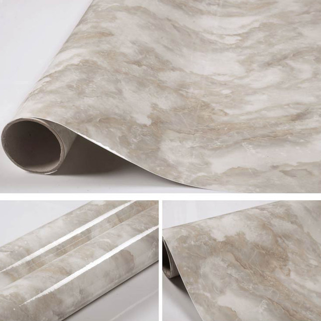 Online-Shop Moderne Marmor Selbstklebende Tapete Küchenschrank Vinyl ...