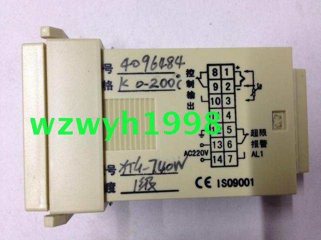 New authentic Yuyao temperature Instrument Factory XTG-740W intelligent temperature control instrument XTG-7000 taie thermostat fy800 temperature control table fy800 201000