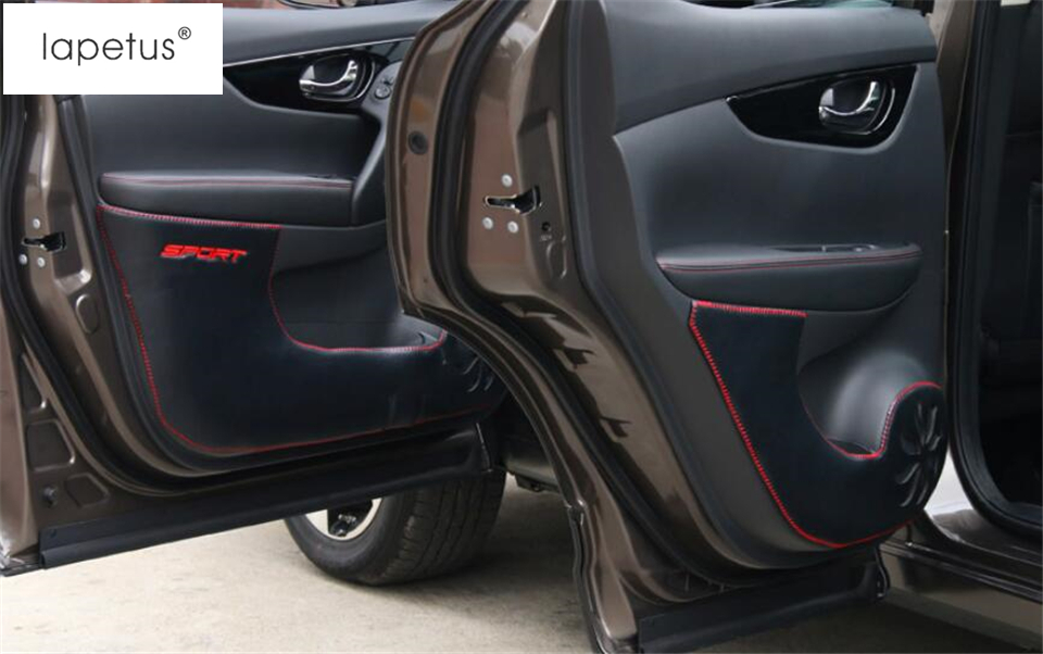Lapetus Dodatki Avtomobilski vrat Anti Kick Pad Mat zaščitni - Dodatki za notranjost avtomobila - Fotografija 3