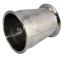 102MM To63MM 4 To 2 1 2 Sanitary Ferrule Reducer Fitting SS316 Tri Clamp Type
