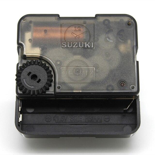 Suzuki Plástico Relógio de Parede Movimento Silencioso Relógio Acessórios Movimento do Relógio de Quartzo Movimento com as mãos HS88