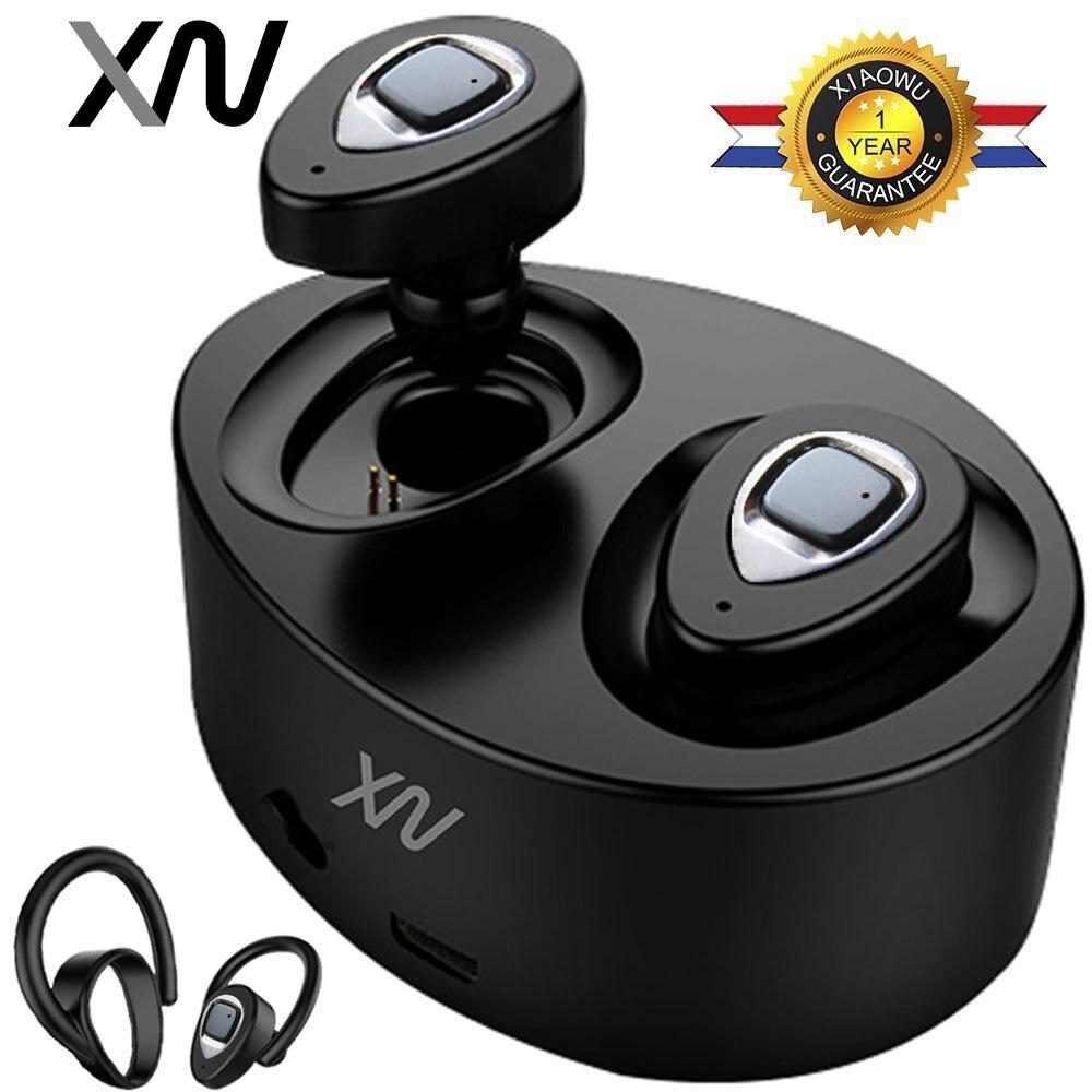 XIAOWU k2 K5 TWS Mini Jumeaux Sans Fil Bluetooth 4.1 Écouteur Étanche Écouteurs Écouteur Avec Micro Pour iphone 8/Xiaomi/ huawei