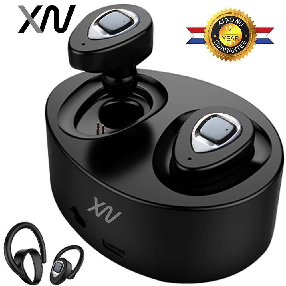 XIAOWU k2 K5 TWS Mini Twins Wireless Bluetooth 4.1 Auricolare Impermeabile Auricolari Auricolare Con Il Mic Per Il iphone 8/Xiaomi/ huawei