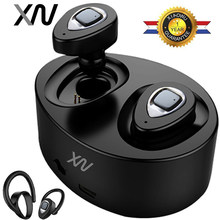 XIAOWU k2 K5 TWS Mini Twins Wireless Bluetooth 4.1 Earphone Waterproof Earbuds Earpiece With Mic For iphone 8/ Xiaomi /huawei(China)