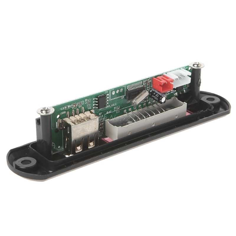 マイクロ usb 電源 tf ラジオ MP3 デコーダオーディオボード車のリモート音楽スピーカー Oct18 ドロップシップ