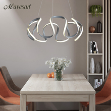 Modern LED Hanging lamps for living room modern Kitchen Cord pendant lamp dinning lamparas colgantes suspension