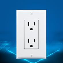 все цены на New US Standard US Socket(15A), White, AC 110~220V, Wall Powerpoints With Plug онлайн