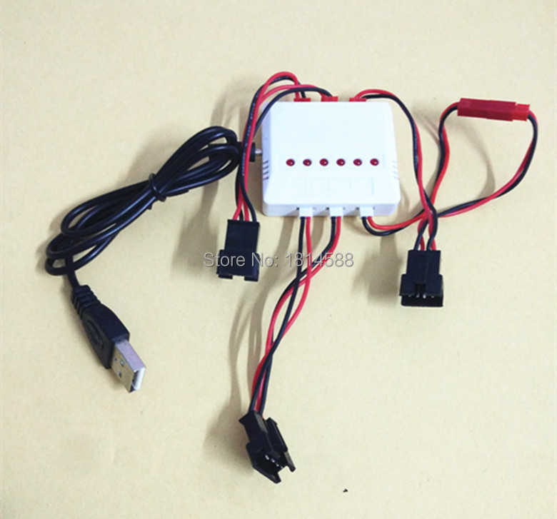 U818S UDI four axis aircraft parts font b battery b font USB charger 1 charge 3