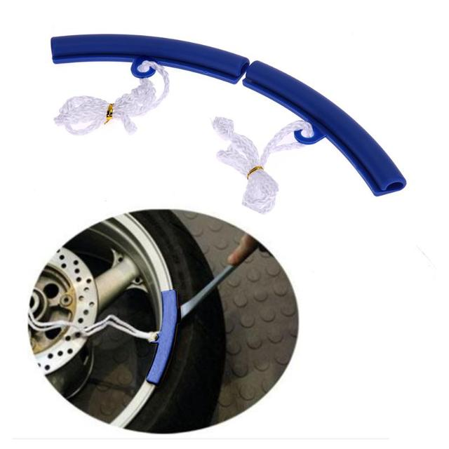 High Quality Universal 2 Pcs Motorcycle Saver Changing Tyre Tire Wheel Rim Edge Protectors Tire Rims Tool 3 Colors Hot Selling