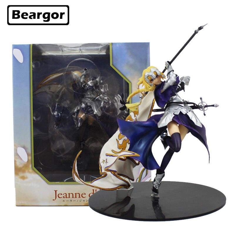 7 pouce Sort Apocryphes Joan de Arc Saber Lily jeanne d'arc 5ème Drapeau ver. en boîte 17 cm PVC Anime Action Figure Modèle Poupée Jouets Cadeau
