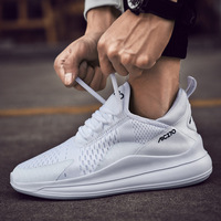 Men Vulcanize Shoes Sneakers Breathable Casual No slip Men 2019 Male Air Mesh Lace up Wear resistant Shoes tenis masculino