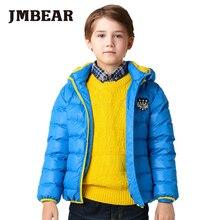 JMBEAR font b boys b font thick down font b coat b font kids winter jacket