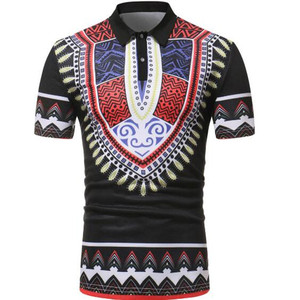 Image 1 - new mens casual 3D printed shirt with short sleeves