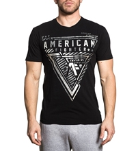 b1df462a56c029 American Fighter T Shirt Mens Round Neck Short Sleeves T-shirt Cotton  Bottoming T Shirt