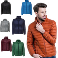 Special Offer Ultra Light Weight Thin Down Jacket Women Stand Collar Short Slim White Duck Down