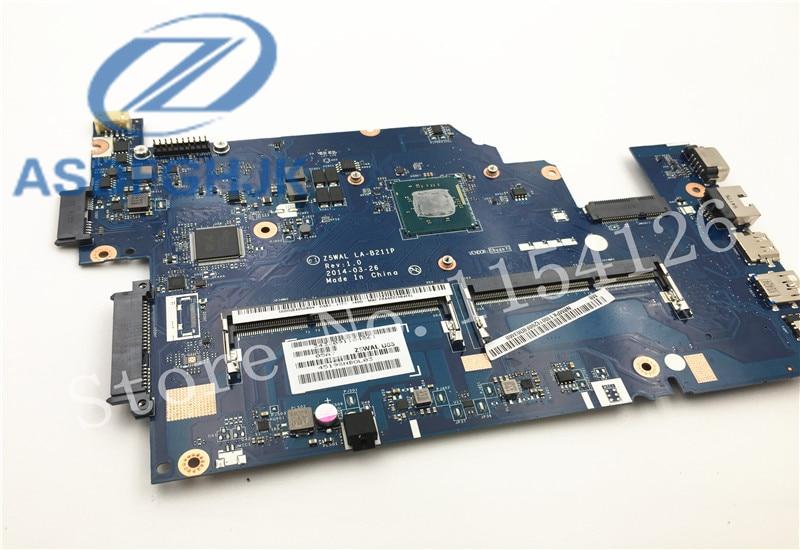 laptop motherboard for font b ACER b font E5 511 motherboard Z5WAL LA B211P NBMPL11001 DDR3