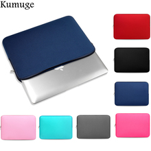 11.6 13.3 15.4 15.6 Soft Laptop Sleeve Bag for Macbook Air Pro Retina 11 13 15 Laptop Cover Case for Mac Pro 13 Lenovo Dell HP