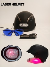 LLLT hair therapy laser hat for hair regrowth hair helmet laser for anti hair loss solution