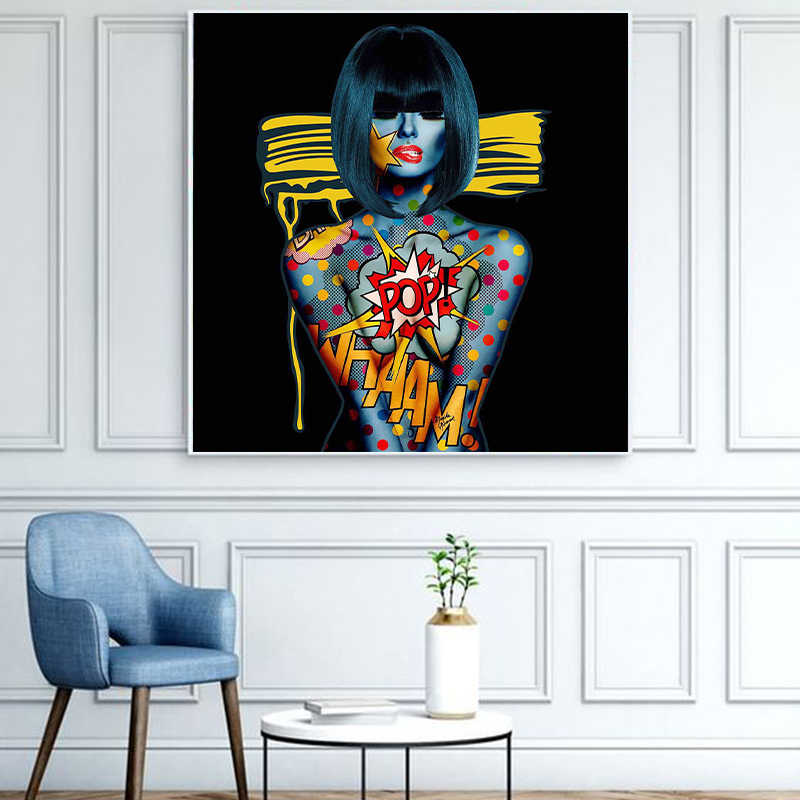 MU TU Wall Art monika nowak Game Equipment Painting Posters And Prints Wall Pictures For Living Room 50x50cm