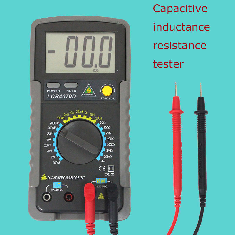 Portable professional digital multimeter Multimetro resistance meter inductance capacitance tester multimeters multitester цена