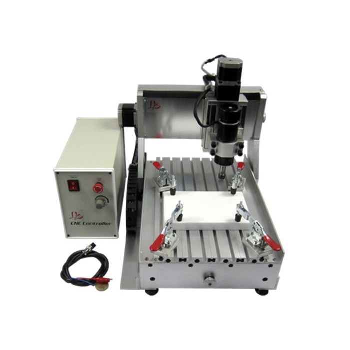 Mini cnc milling machine 3020 500w Ball screw mach3 control wood router cnc 5axis a aixs rotary axis t chuck type for cnc router cnc milling machine best quality