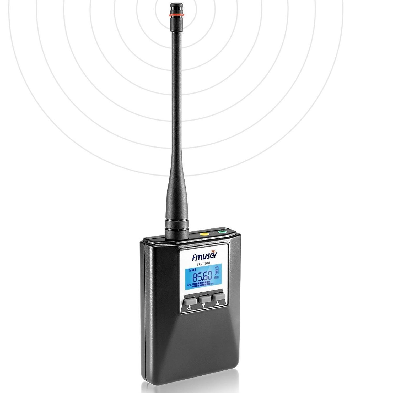 FMUSER FU-T300 0.2W Portable Home FM Transmitter Power Adjustable Stereo/Mono FM Transmitter Long Range Broadcasting For Holiday
