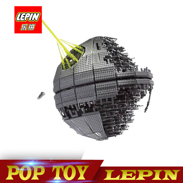 DHL Lepin 05026 3449pcs Star Set Wars UCS Death Star II The second generation Building Block Bricks Toys Compatible legoed 10143