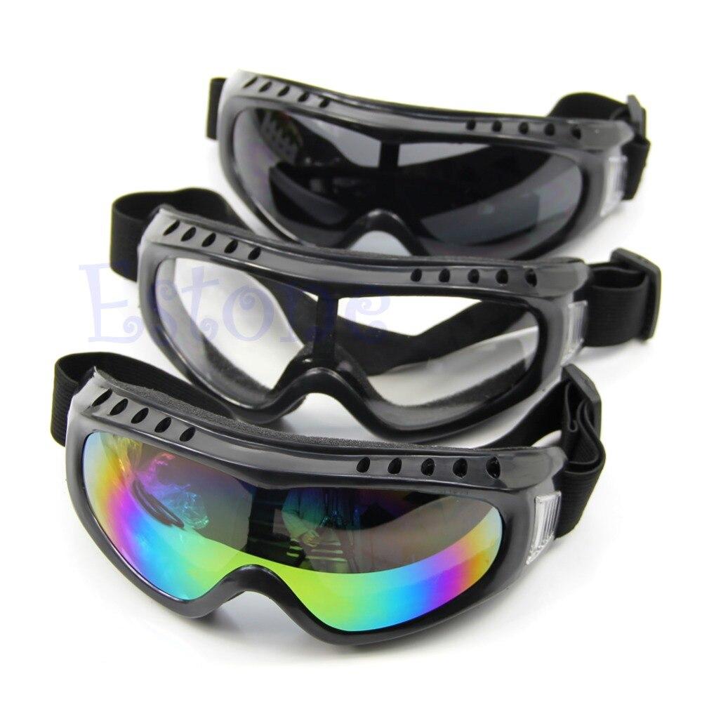 Открытый покрытием Детская безопасность Лыжный Спорт для верховой езды очки Спорт пыле солнцезащитных глаз Очки Перевозка груза падения