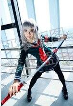 Vestido de Super Danganronpa 2 para mujer, disfraz de Cosplay de Halloween para mujer, Peko Pekoyama