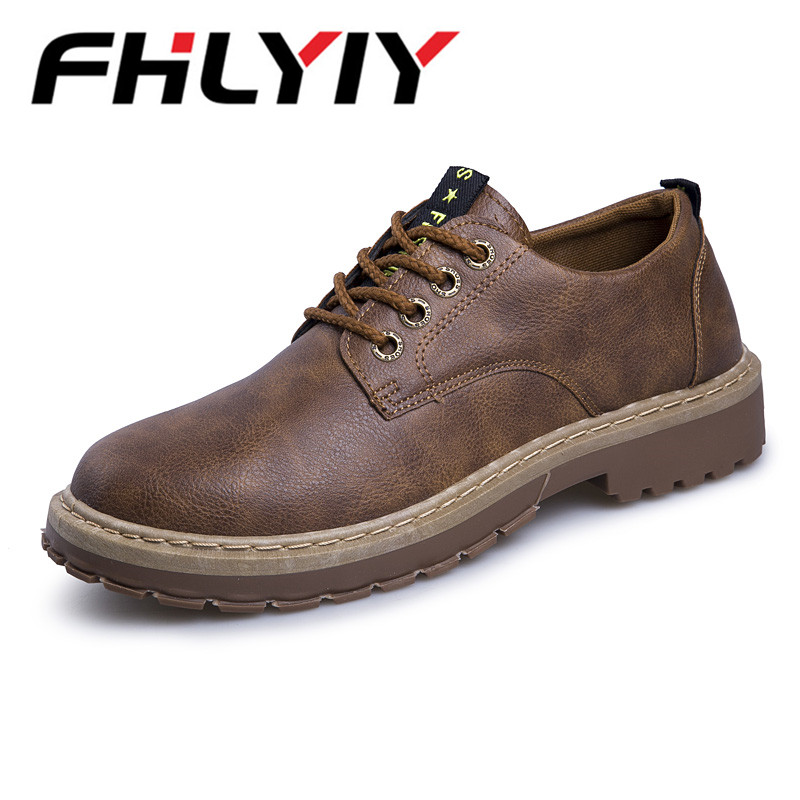 Fashion Men Casual Shoes New Spring Men Flats Lace Up Male Suede Oxfords Men Leather Shoes Zapatillas Hombre Size 39-44 men s leather shoes vintage style casual shoes comfortable lace up flat shoes men footwears size 39 44 pa005m