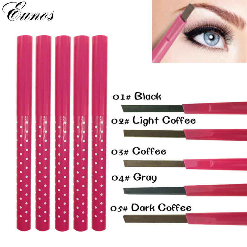1 PCS Waterproof Longlasting permanent eyebrow pencil Eye Brow Liner Powder eye liner shadow eyebrow enhancer Makeup Tools acces