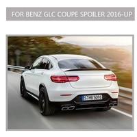 Carbon Fiber glc c253 Rear Spoiler Boot Lip Wing for Mercedes Benz GLC Class COUPE GLC320 GLC450 Sport 4 Door 2016 2017 2018