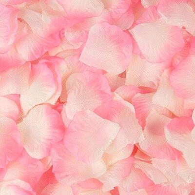 2000pcs/lot Wedding Party Accessories Artificial Flower Rose Petal Fake Petals Marriage Decoration For Valentine supplies 19