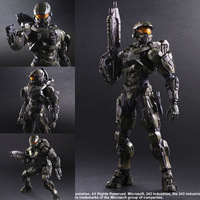 Play Arts KAI Halo 5 Guardians No 1 Master Chief PVC Action Figure Collectible Model Toy