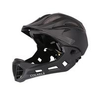 Fullface ciclismo capacete dh off-road trail capacete da bicicleta destacável capacetes de bicicleta cheio coberto viseira segurança fullface capacete