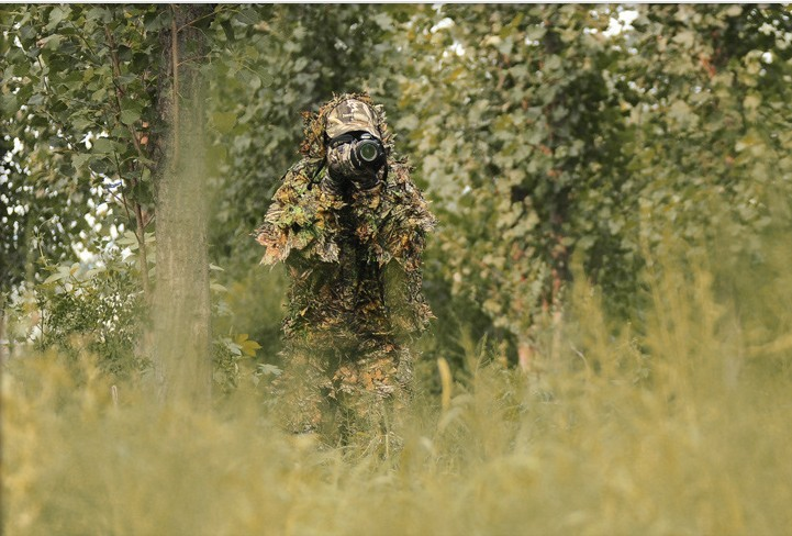 Bionic Ghillie Suits maple leaf camouflage hunting Ghillie Suits bionic ghillie suits maple leaf camouflage hunting ghillie suits