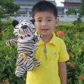 Tigre Marioneta de Mano Para Niños Bonecos Divertidamente Jugar Juegos Gratis Oyuncak Bebek Titeres De Dedo Speelgoed Brinquedos educativos